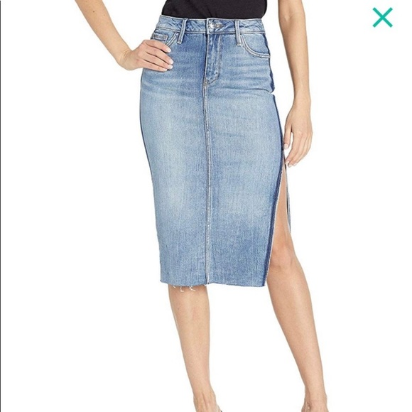 Sam Edelman Dresses & Skirts - NEW Sam Edelman Maribelle Denim Skirt 26